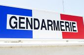 Gendarmerie sign