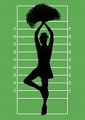 Football Cheerleader 3