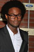 LOS ANGELES - SEP 10:  Echo Kellum arrives at the FOX Eco-Casino Party 2012 at Bookbindery on Septem