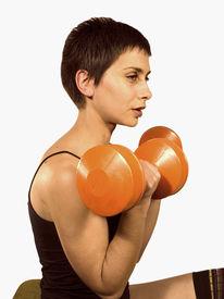 picture of body builder  - girl fitness - JPG