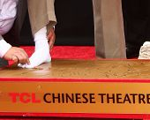 LOS ANGELES - JUN 6:  Jackie Chan at the Hand & Footprint ceremony for Jackie Chan at the TCL Chines