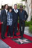LOS ANGELES- MAY 31:Kenny G, Carole Bayer Sager, David Foster, Kenny Edmonds at the David Foster Hol