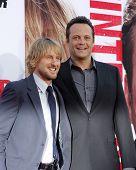 LOS ANGELES - MAY 29:  Owen Wilson, Vince Vaughn arrives at the