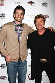 LOS ANGELES - JUN 3:  Winsor Harmon, Adam Gregory at the Player Concert celebrating Devin DeVasquez