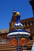 Vase On Spain Plaza, Seville, Spain