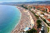 Fantastic Panorama Of Nice, France