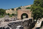The Praetorium, Gortyna Ruins. Crete. Greece.