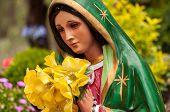 Bright Mary Statue