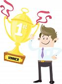 Business Buddy Wins First Prize Trophy
