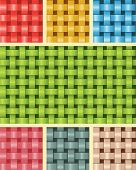 Tecer fibra textura Multicolour