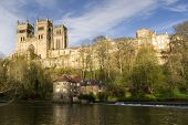 Durham Cathedral in April