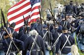 Union Troops Marching To War