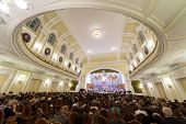 MOSCOW - OCT 4: Gala evening dedicated to 100th anniversary of the All-Russian Museum Association of