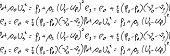 Repeating Mathematical Formulas