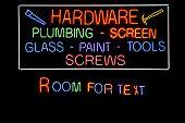 Neonreclames, letters, woorden en symbolen geïsoleerd op zwart van verschillende kleuren. Neon Letters en woorden