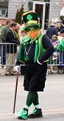 Irish Leprechaun At The Staten Island St. Patrick's Day Parade
