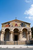 pic of church mary magdalene  - Church of All Nations in garden of Gethsemane Jerusalem Israel - JPG