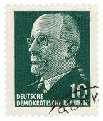 Walter Ulbricht Portrait