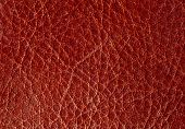 Background From A Red Leather.