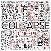 Word cloud - collapse