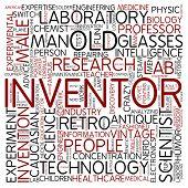 Word cloud - inventor