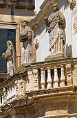 Propylaea. Lecce. Puglia. Italy.