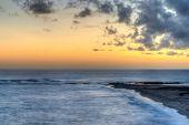 Beautiful Orange Ocean Sunset