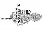 Word cloud - RFID