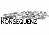 Word cloud - consequence