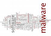 Word cloud - malware