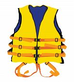 Yellow Life Jacket