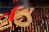 Grilled Sausages  Xxxl