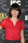 LOS ANGELES - 7 de JAN: Kate Micucci no IFC é