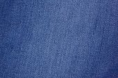 pic of indigo  - blue denim fabric can be used as background - JPG