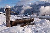 Alpine Water Trough, Swiss Alps