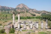 Ancient temple of Diana in Sardis