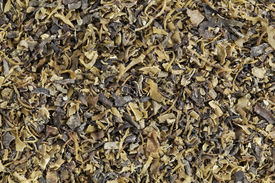image of irish moss  - Background of dried Irish moss seaweed  - JPG
