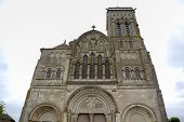 Basilique  of St. Mary Magdalene in Vezelay Abbey. Burgundy, France