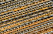 Rusty Steel Rods