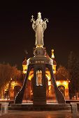 Monument of Saint Catherine in Krasnodar, Russia