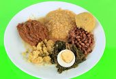 Soul Food Vegetable Plate