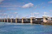Dam-bridge