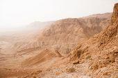 Stone Judean Desert Near Dead Sea