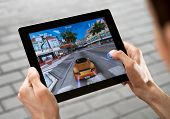 Asphalt Game Application On Apple Ipad