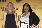 LOS ANGELES - JUN 11:  Betsy Beers, Shonda Rhimes at the Women In Film 2014 Crystal + Lucy Awards at