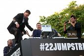 LOS ANGELES - JUN 10:  Channing Tatum, Jonah Hill at the