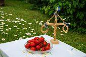 Strawberries At Midsummer.