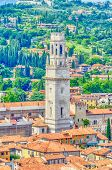 Tower Of Verona Cathedral