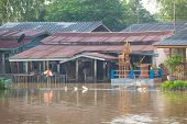 House Flood In Thailand