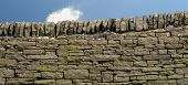 Drystone wall in Derbyshire